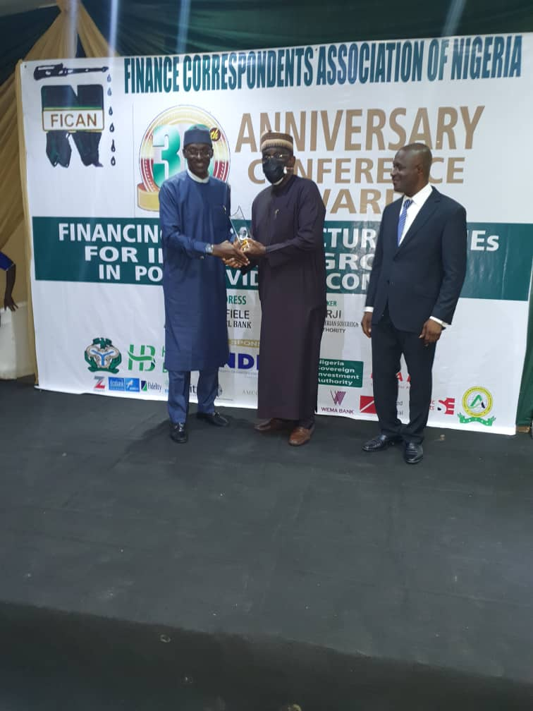 MD/CE, NDIC bags FICAN award